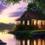 домик у реки